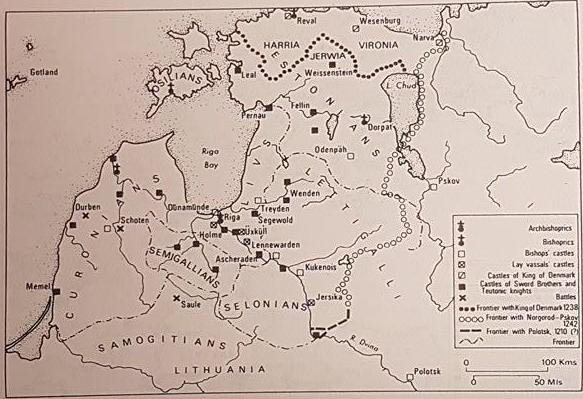 Crusaders on the Baltic Shore – The Livonian & Estonian Crusades (c. 1198 – 1290)