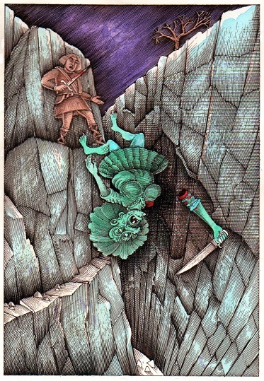 Lord Grettir and the Troll