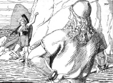 Harbard the Ferryman & the Embarrassment of Thor – On the